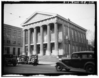 Rowan Courthouse circa 1933